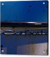 Chevrolet 2 Acrylic Print