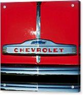 Chevrolet 3100 1953 Pickup Acrylic Print by Tim Gainey