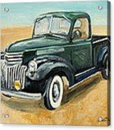 Chevrolet Art Deco Truck Acrylic Print