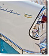 Chevrolet Bel-air Taillight Acrylic Print