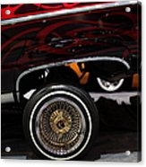 Chevrolet Caprice Lowrider - 5d20241 Acrylic Print by Wingsdomain Art and Photography