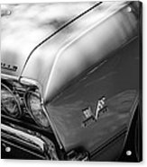 Chevrolet Chevelle Ss Grille Emblems Acrylic Print
