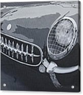 Chevrolet Corvette 1954 Acrylic Print