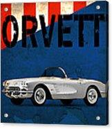Chevrolet Corvette 1958 Acrylic Print