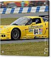 Chevrolet Corvette C6 Race Car Acrylic Print