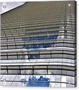 Chevron Corporation Houston Tx Acrylic Print by Christine Till