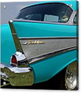 Chevy 1957 Bel Air Acrylic Print