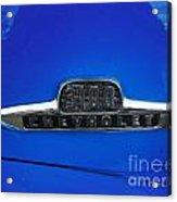 Chevy 3100 Emblem Acrylic Print