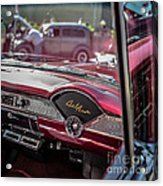 Chevy Bel Air Dash Acrylic Print