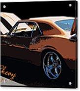 Chevy Camaro 67 Acrylic Print