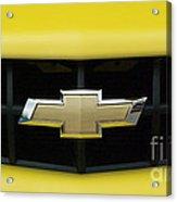 Chevy Camero Emblem 01 Acrylic Print
