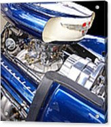 Chevy Hot Rod Engine Acrylic Print