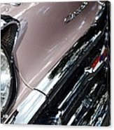 Chevy Acrylic Print by Michelle Calkins