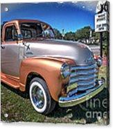 Chevy Pickup Acrylic Print
