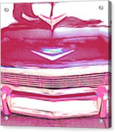 Chevy - Red Acrylic Print