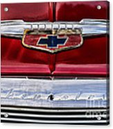 Chevy Truck Logo Vintage Acrylic Print