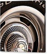 Chevy Wheel Acrylic Print