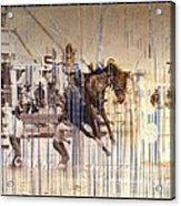Cheyenne Spurs Acrylic Print