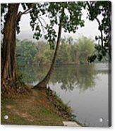 Chiang Mai University Lake Acrylic Print
