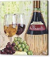 Chianti And Friends Acrylic Print by Debbie DeWitt