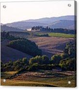 Chianti Hills In Tuscany Acrylic Print by Mathew Lodge