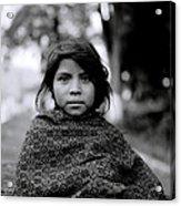 Chiapas Girl Acrylic Print