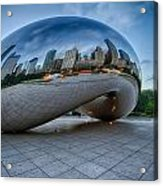 Chicago - Cloudgate Reflections Acrylic Print