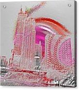 Chicago 1 Acrylic Print by Soumya Bouchachi