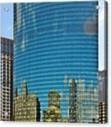 Chicago - 333 West Wacker Drive Acrylic Print by Christine Till