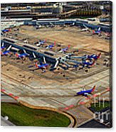 Chicago Airplanes 03 Acrylic Print