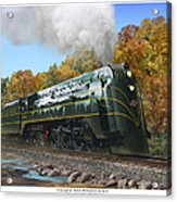 Chicago And North Western Class E-4 Acrylic Print