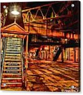 Chicago At Night I Acrylic Print