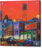 Chicago Avenue Looking West Acrylic Print