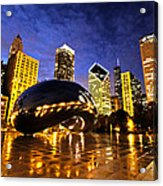 Chicago Night Acrylic Print