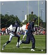 Chicago Bears Hc Marc Trestman Training Camp 2014 02 Acrylic Print