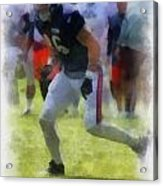 Chicago Bears Te Zach Miller Training Camp 2014 Pa 01 Acrylic Print