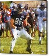 Chicago Bears Te Zach Miller Training Camp 2014 Pa 02 Acrylic Print