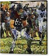 Chicago Bears Te Zach Miller Training Camp 2014 Pa 04 Acrylic Print