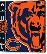 Chicago Bears Acrylic Print