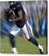 Chicago Bears Training Camp 2014 Moving The Ball 03 Acrylic Print