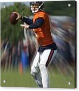 Chicago Bears Training Camp 2014 Moving The Ball 06 Acrylic Print
