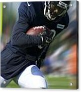 Chicago Bears Training Camp 2014 Moving The Ball 09 Acrylic Print