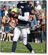 Chicago Bears Wr Armanti Edwards Training Camp 2014 07 Acrylic Print