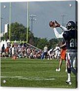Chicago Bears Wr Armanti Edwards Training Camp 2014 08 Acrylic Print