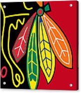 Chicago Blackhawks 2 Acrylic Print