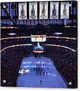 Chicago Blackhawks Please Stand Up Acrylic Print