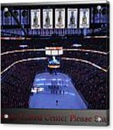 Chicago Blackhawks Please Stand Up With Red Text Sb Acrylic Print