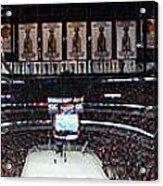Chicago Blackhawks United Center Panorama 03 Acrylic Print