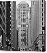 Chicago Board Of Trade Acrylic Print by Christine Till