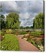 Chicago Botanical Gardens - 97 Acrylic Print by Ely Arsha